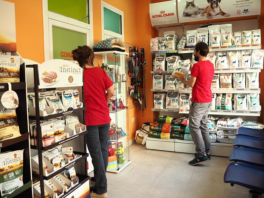 tienda de alimentos para mascotas